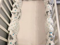 Бортики-подушки для кроватки