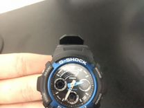 Японские наручные часы Casio G-shock AW-591-2A с х
