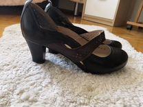 Туфли Sinta Gamma, черно-коричневые