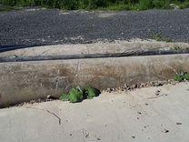 Труба бетонная б/у 2 шт. на заезд