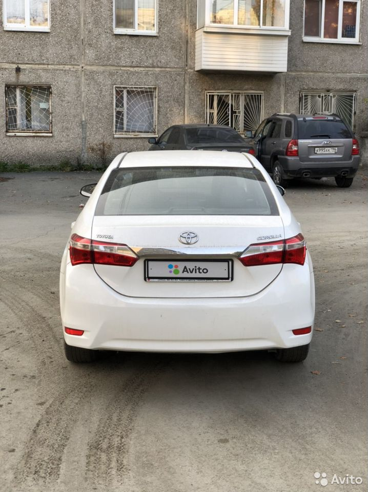 Toyota Corolla, 2013  89584797087 купить 5